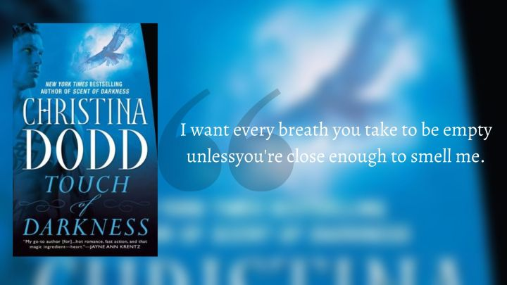 Touch of Darkness [Darkness Chosen #2] by Christina Dodd