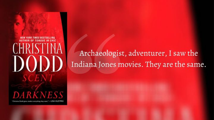 Scent of Darkness [Darkness Chosen #1] by Christina Dodd
